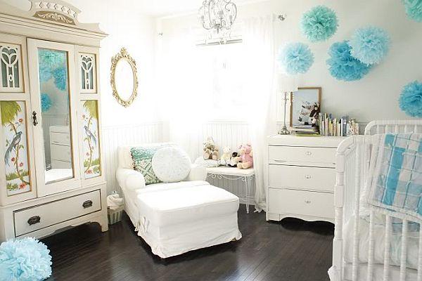 Bạn có hay trang trí phòng cho bé?